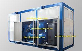 Concluído um novo sistema de refrigeração pré-montado na cobertura