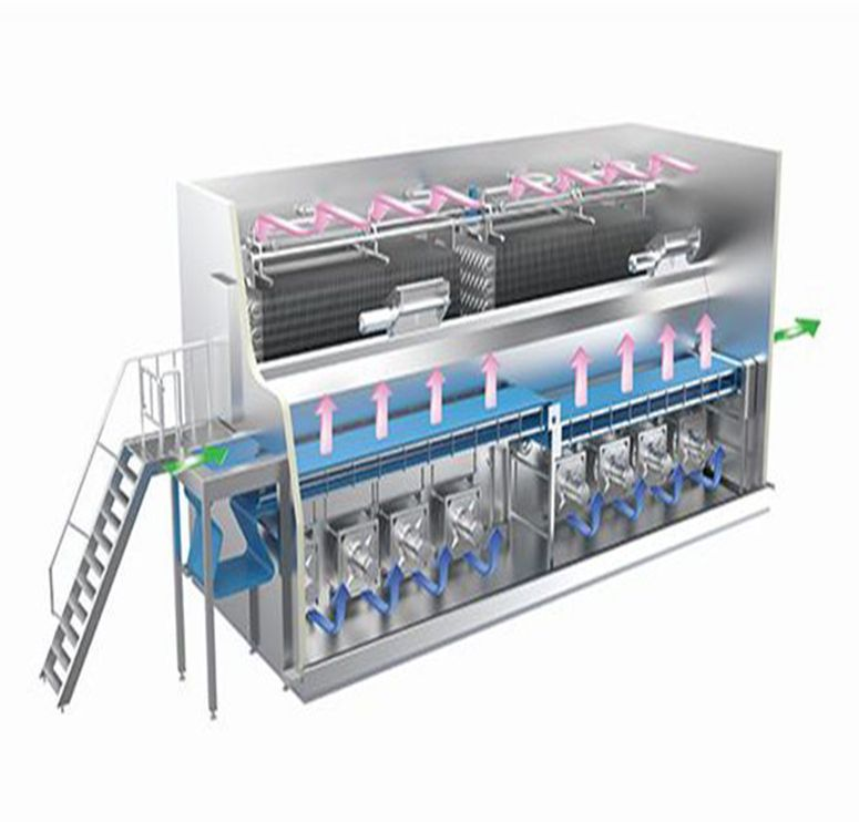 Fluidized Freezer